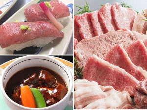 肉いぃねぇ☆A5限定・黒毛和牛とブランド三元豚だけの【お肉版☆豪華な少食】お肉への愛情が凝縮・・☆