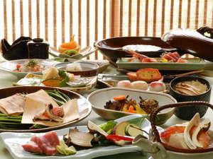 秋の懐石料理の一例です。