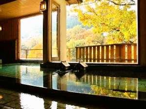 女性大浴場秋~秋は湯野上温泉で一番の時期です~