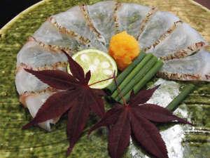 【和食膳】紅葉鯛薄造り