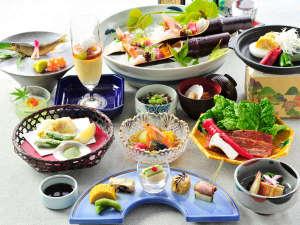 2017年夏の和食膳一例
