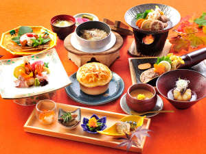 2017年秋の和食膳一例