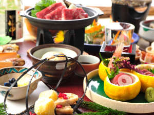 2017年 冬の和食膳一例