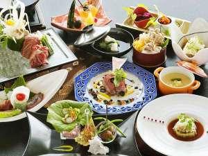●美味しい食材をたっぷり使った、料理人のこだわりあふれる和創作会席(イメージ)
