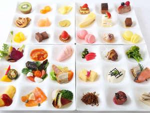 旬の食材や手作りにこだわった和洋デザート朝食の数々をご堪能ください。