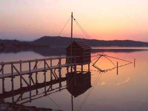 東郷湖(夕景)