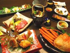 秋の特撰懐石料理<白萩>例