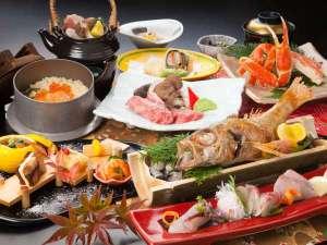 晩秋から初冬の、ディナー和風懐石料理(のど黒塩焼き)