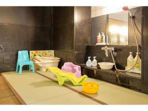 子供用畳スペース(女性浴場)