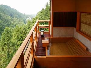 【別邸そらの庭】客室露天風呂一例