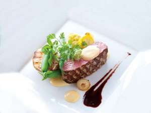 牛ヒレ肉を使用したメインディッシュ(一例)