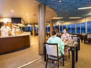 回転展望レストラン「東風(こち)と海」美しい鳥羽湾を眺めながら伊勢志摩の旬料理をお楽しみください。