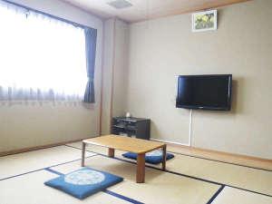 *和室一例/6畳または8畳の和室。足を伸ばしておくつろぎください♪wi-fiLANあり!