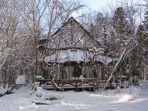 2012年の元旦。今年は雪の量が多いです。
