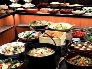 ★朝食★和洋バイキング!郷土料理をはじめ多数のメニューをご用意しております♪
