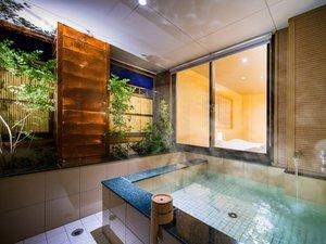 ◆客室温泉露天風呂(67.5平米)◆