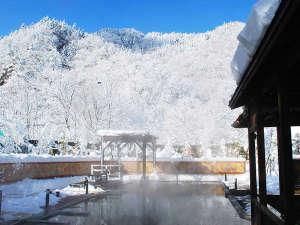 【希の湯】絶景の雪見露天風呂