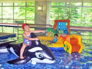 【お子様用プール】子供たちも大はしゃぎ♪