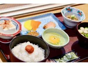 【朝食】北海道産米ななつぼし食べ放題!