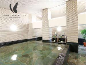 男性大浴場(午後4時-午前1時/午前6時-9時)