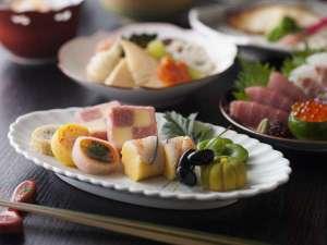 【蓼科 山ごはんイメージ画像】信州の山の御飯をイメージした滋味深いお料理です。