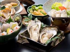 宮島の採れたての牡蠣を堪能
