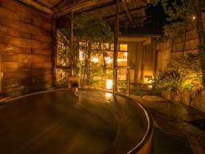 大浴場露天風呂の一例