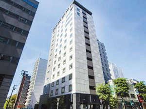 ホテル外観札幌駅から徒歩約2分の好立地♪