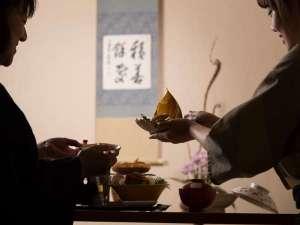 お部屋でのご夕食(イメージ)