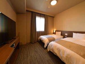 ◇禁煙◇ツインルーム20-22平米 ベッド120×195センチ