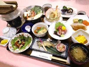 *【夕食一例】一番人気のお膳プラン