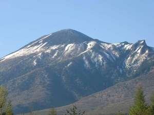 五月晴れの岩手山です。