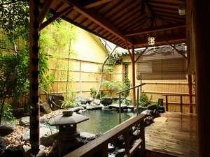 ■風呂■1階大浴場竜宮の湯「岩露天風呂」
