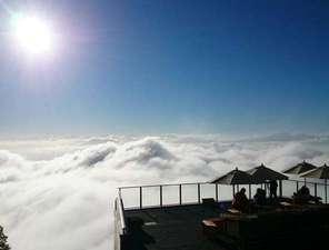 竜王マウンテンパーク 雲海を望むソラテラス 6月からの営業です