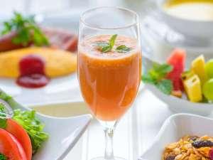 スムージーで健康的な朝食・・・♪