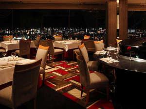 レストラン「エンジェルビュー」 キラキラと輝く夜景