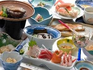 海の幸がズラリ並ぶ!料理一例