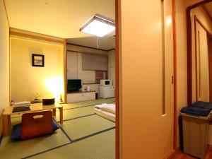 観光にも人気の和室◆ビジネスユースには贅沢な造り