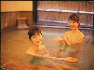 大浴場は鉱泉です。