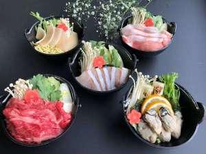 満腹プラン:夕食/選べるお鍋5種類