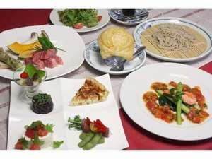 夕食(一例)前沢牛