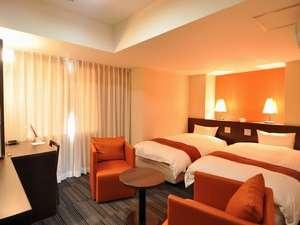 客室は全て「デュぺスタイル」です。【WiFi完備】上質で落ち着きある客室です。