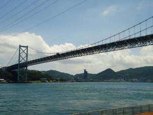 【関門橋/関門海峡】