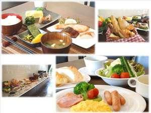 【無料朝食】 月~土:和食  / 日曜、祝・祭日:和洋食※掲載写真はイメージです