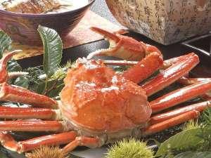 山陰冬の味覚♪ずわい蟹の姿盛り