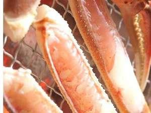 甘くて美味しい焼き蟹(調理イメージです)
