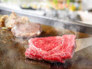 【アイリス】目の前で焼き上げるステーキが好評のステーキダイニング「アイリス」