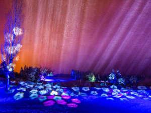 新イルミネーションイベント「あてま雪桜」開催期間:2019年1月~3月末(予定)