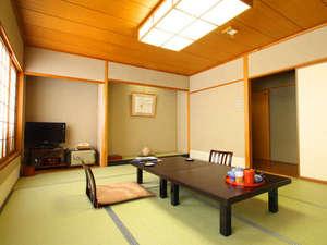【本館和室10畳 スタンダード客室】バス・洗浄機トイレ付。
