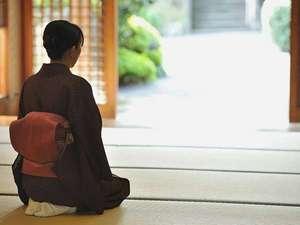 和の心宿るおもてなしで、お客様のお越しを心よりお待ち申し上げ待ております。